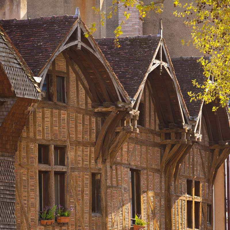 Troyes, the city of thousand colours
